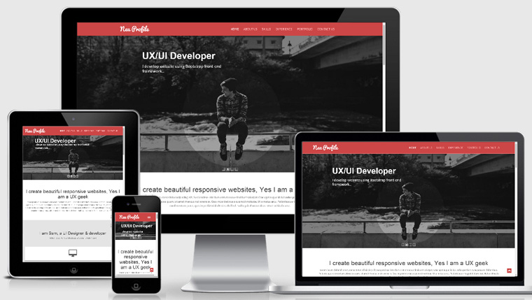 قالب سایت طراحی