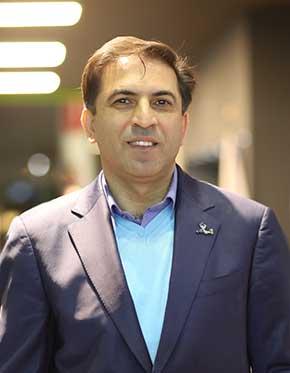 سید حسن هاشمی، رئیس هیات مدیره هلدینگ دانش بنیان گرین وب